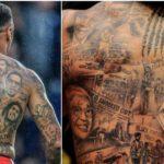 Los futbolistas más tatuados del Mundo