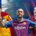 Los futbolistas chilenos que han vestido la camiseta del FC Barcelona