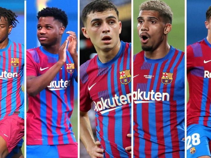 Las Jovenes Estrellas que se están Apoderando de un Renovado Barcelona