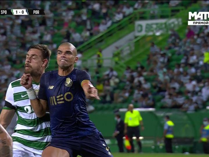 Pepe wird wegen Schlägen in den Kiefer denunziert