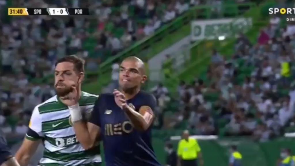 Pepe denunciado por agresión