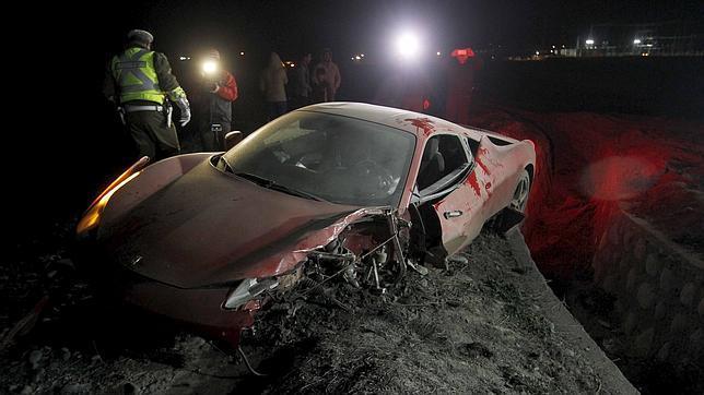 Arturo Vidal borracho Ferrari