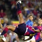La gran chilena de Rivaldo