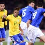 Brasil 2-Italia 2: posiblemente el mejor amistoso del mundo